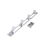Горизонтальный кабельный органайзер 1U, металл