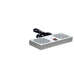 Вентиляторный модуль 2 элемента потолочный без термостата для настенных шкафов
