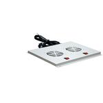 Вентиляторный модуль 2 элемента потолочный без термостата для шкафов с глубиной 600мм