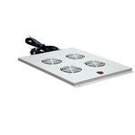 Вентиляторный модуль 4 элемента потолочный без термостата для шкафов с глубиной 800мм