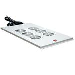 Вентиляторный модуль 6 элемента потолочный без термостата для шкафов с глубиной 1000мм
